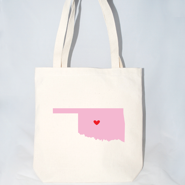 Large Oklahoma beach bags