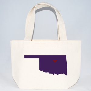 Oklahoma extra small tote bags for wedding guests