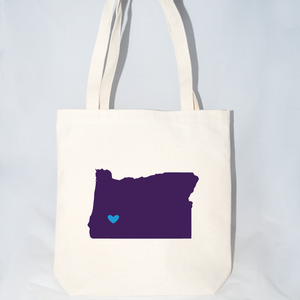 Large Oregon tote bags for events