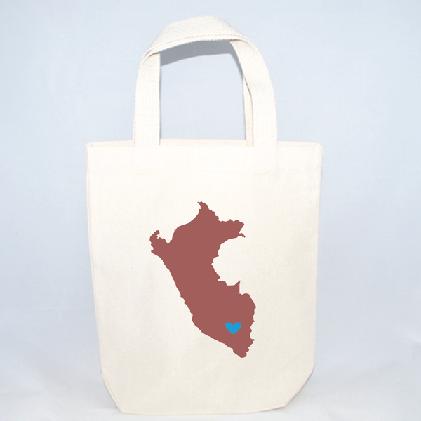 small peru tote bags for weddings