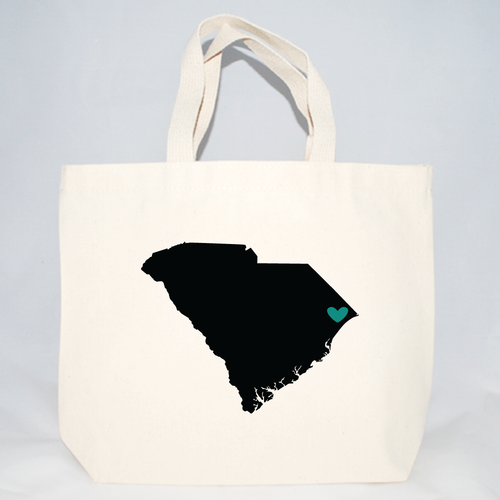 South Carolina Tote Bags - Medium