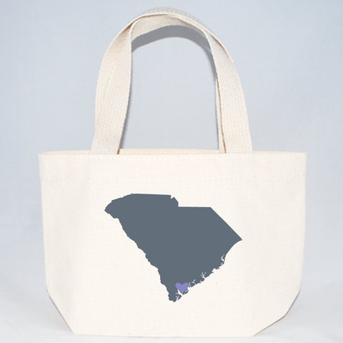 XSmall South Carolina Tote Bags