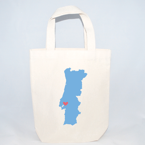 Wedding welcome totes for Portugal weddings