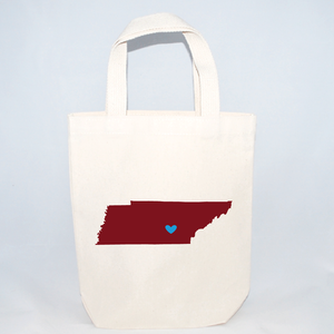 Tennessee small tote bags for weddings and events