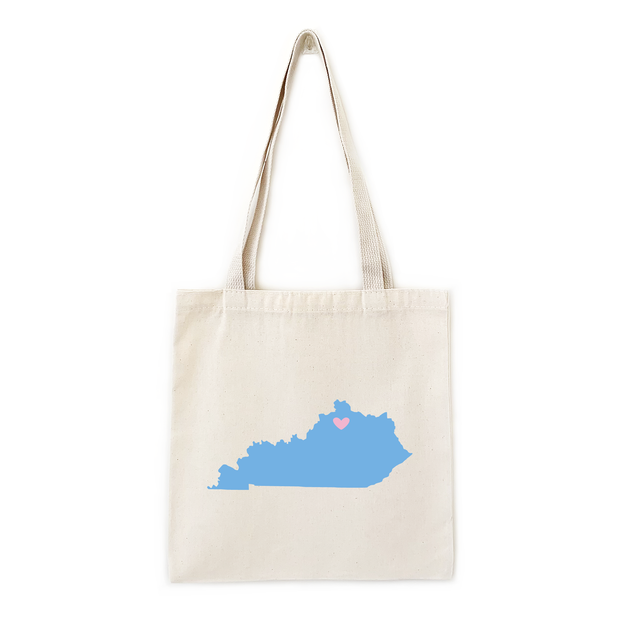 State / Country Flat Tote Bags 1