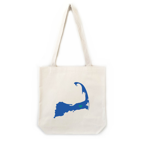 custom state or country tote bags large