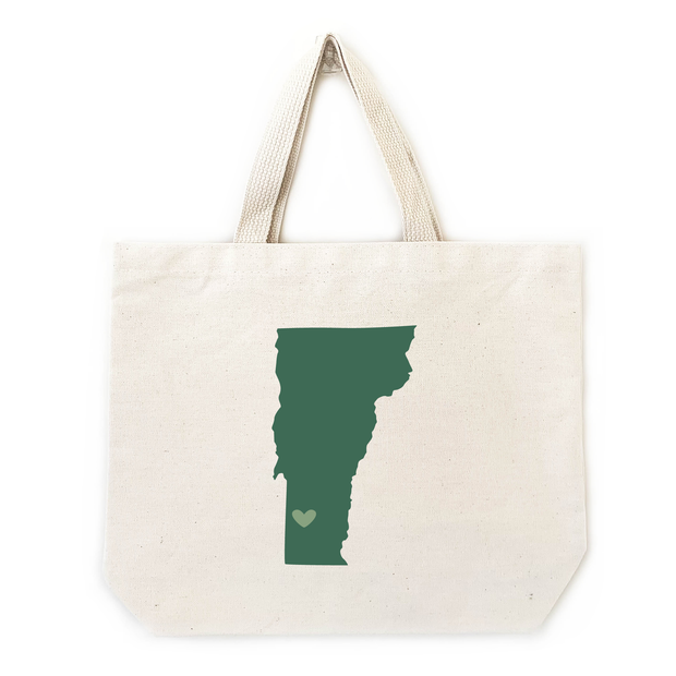 State / Country Medium Tote Bags 1