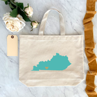 State / Country Medium Tote Bags