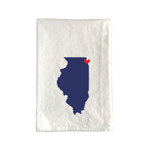 state country tea towels for weddings and event favors