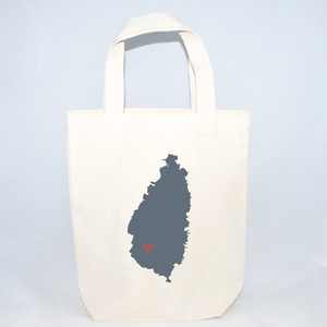 st lucia tote bags for events
