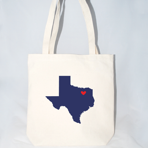 texas wedding welcome large totes