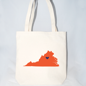 large virginia tote bags for welcome gifts