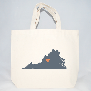 medium virginia hotel welcome tote bags