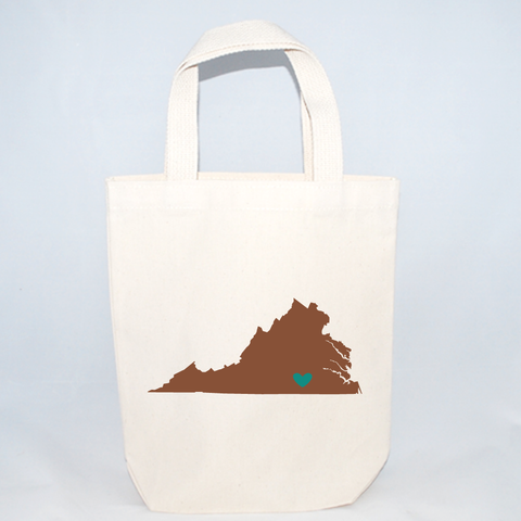 Small Virginia Wedding Totes