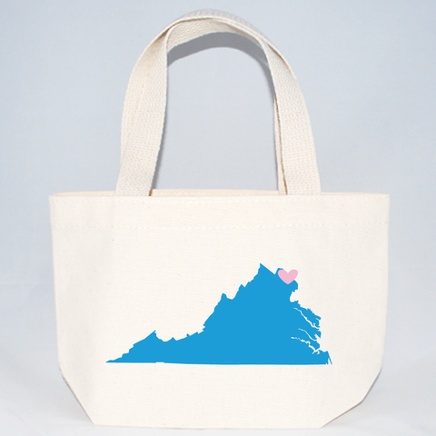 XSmall Virginia Wedding Totes