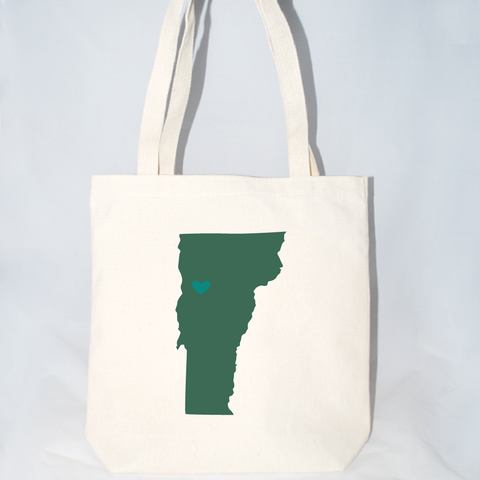 Large Vermont Wedding Totes by Moko and Company in Charlotte, NC