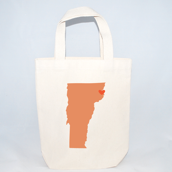 Small Vermont Wedding Totes