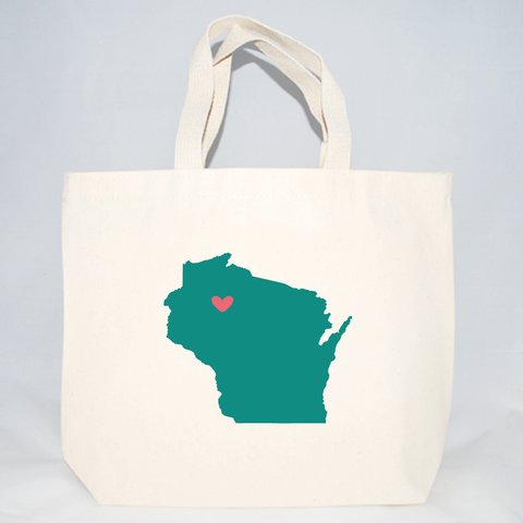 Wisconsin wedding welcome bags