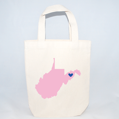 West Virginia Welcome Totes - Small