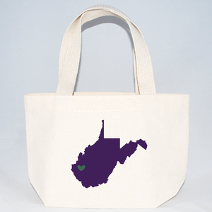 xs west virginia tote bags for weddings
