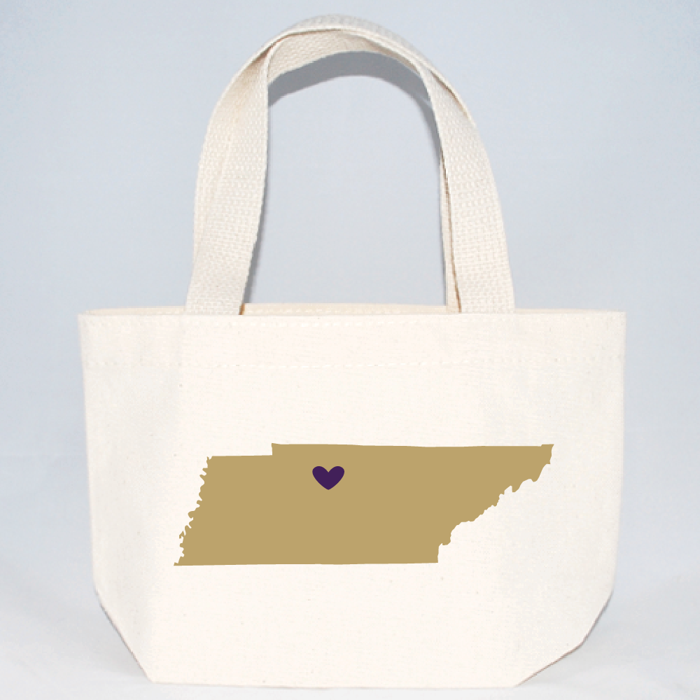 Tennessee xs tote bags for weddings