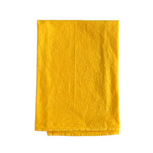 yellow tea towels blank for diy projects