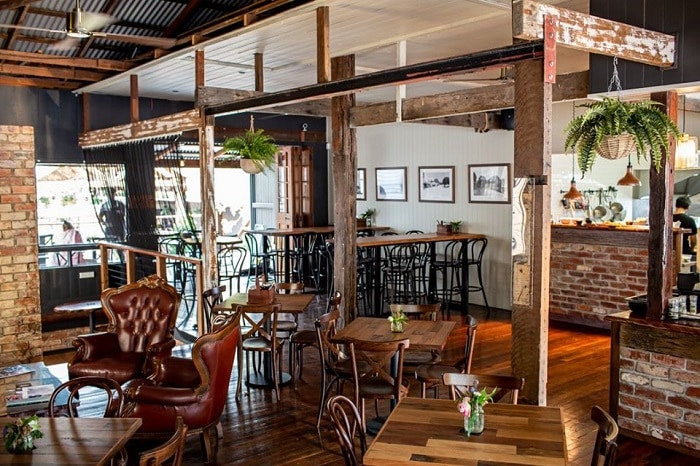The Pomona Distilling Company is one of the best restaurants in Noosaville