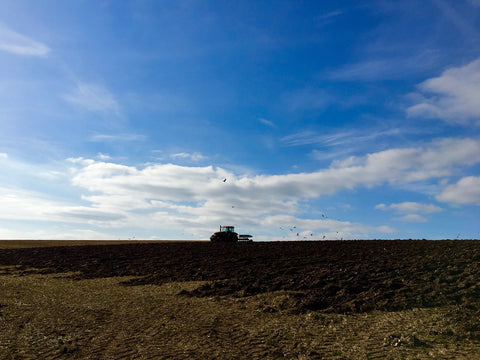 Ploughing on the Yorkshire Wolds