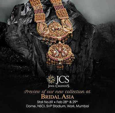 Preview of our New Collection at Bridal Asia at Mumbai - Feb 2020
