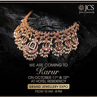 The Grand Jewellery Expo at Karur - Oct 2019
