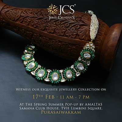 Exquisite Jewellery Collection at The Spring Summer Pop-up By Amaltas samana club house - Purasaiwakkam - Feb 2021