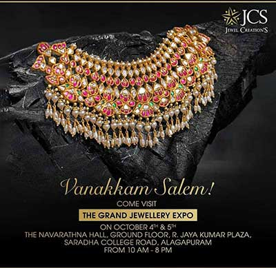 The Grand Jewellery Expo at Salem - Oct 2019