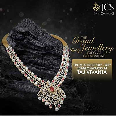 The Grand Jewellery Expo at Coimbatore - Aug 2019
