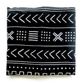 The Swaddle Blanket - Mudcloth Black