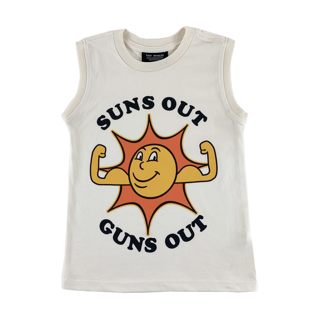 The Suns Out Muscle Tee - KIDS
