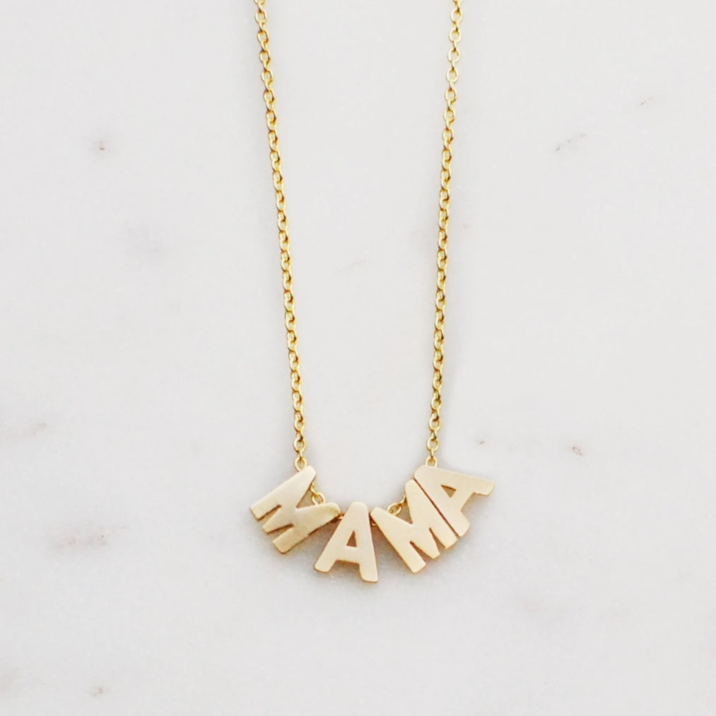 The I'm MAMA Necklace by Helmsie