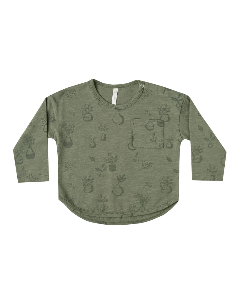 The Potted Plants Long Sleeve by Rylee & Cru - BABY