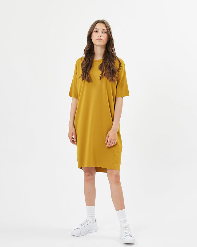 The Regitza Shirt Dress by Minimum - Tobacco