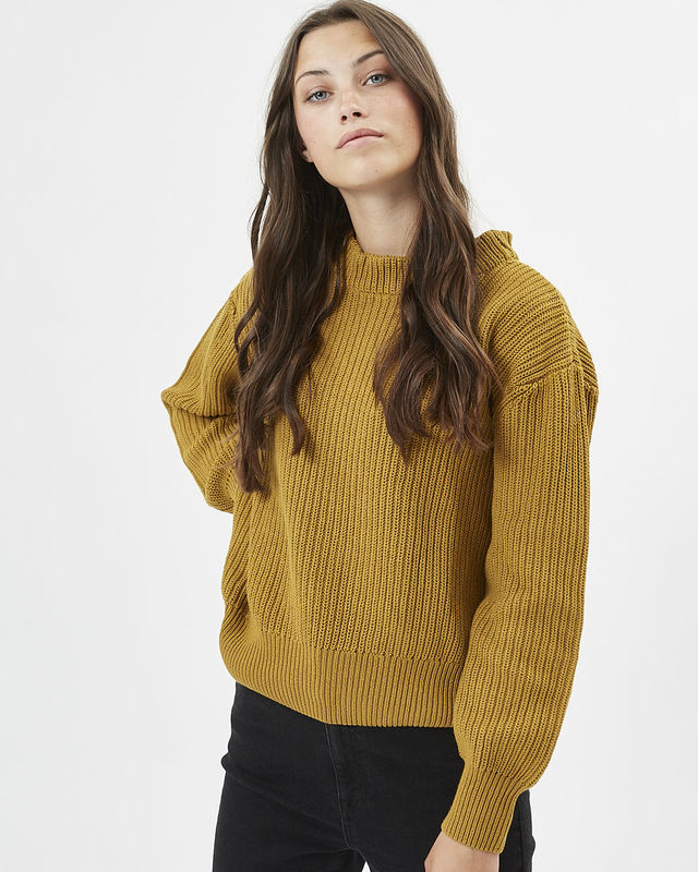 The Mikala Sweater by Minimum - Tobacco