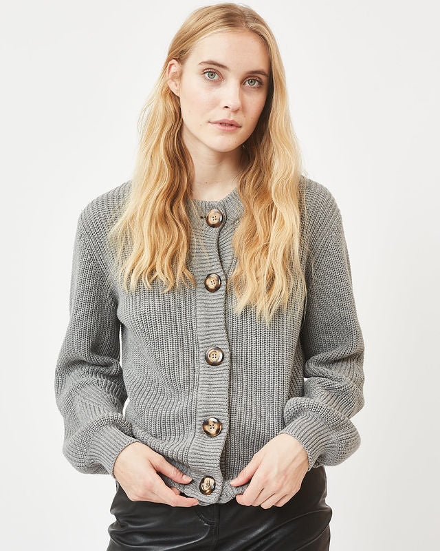 The Affie Cardi by Minimum - Grey