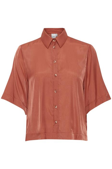 The Alena Blouse - Coral