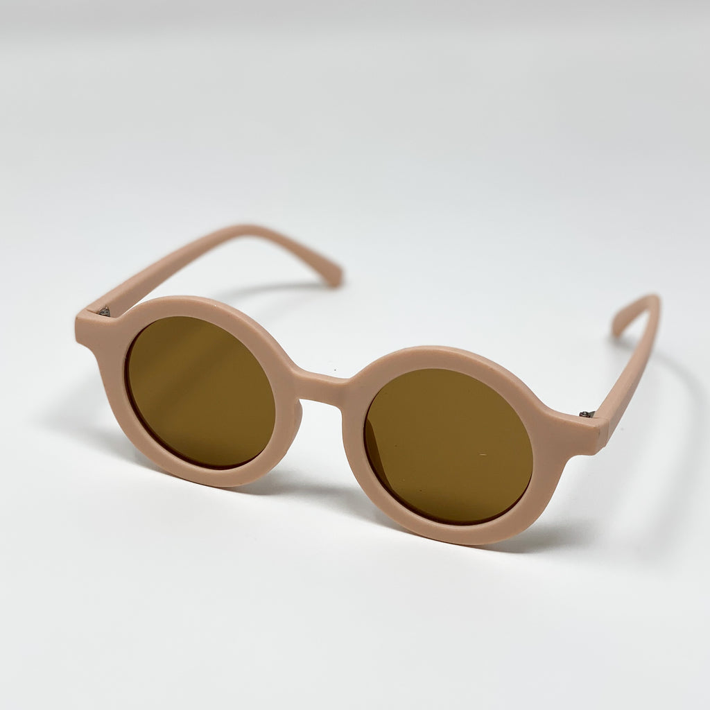 The Kids Mod Round Sunglasses - Various Colours