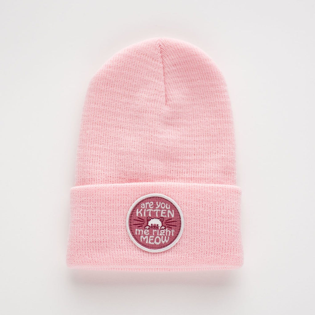 The Are You Kitten Me Beanie - TODDLER