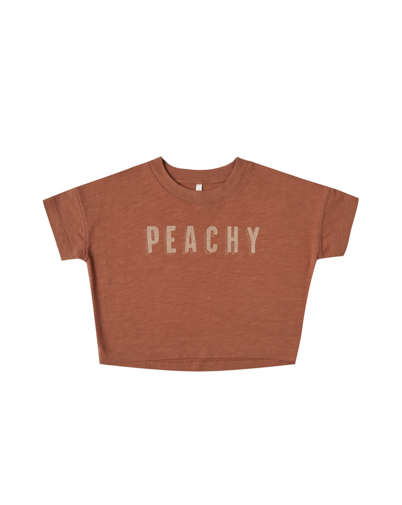 The Peachy Boxy T-Shirt by Rylee & Cru - BABY
