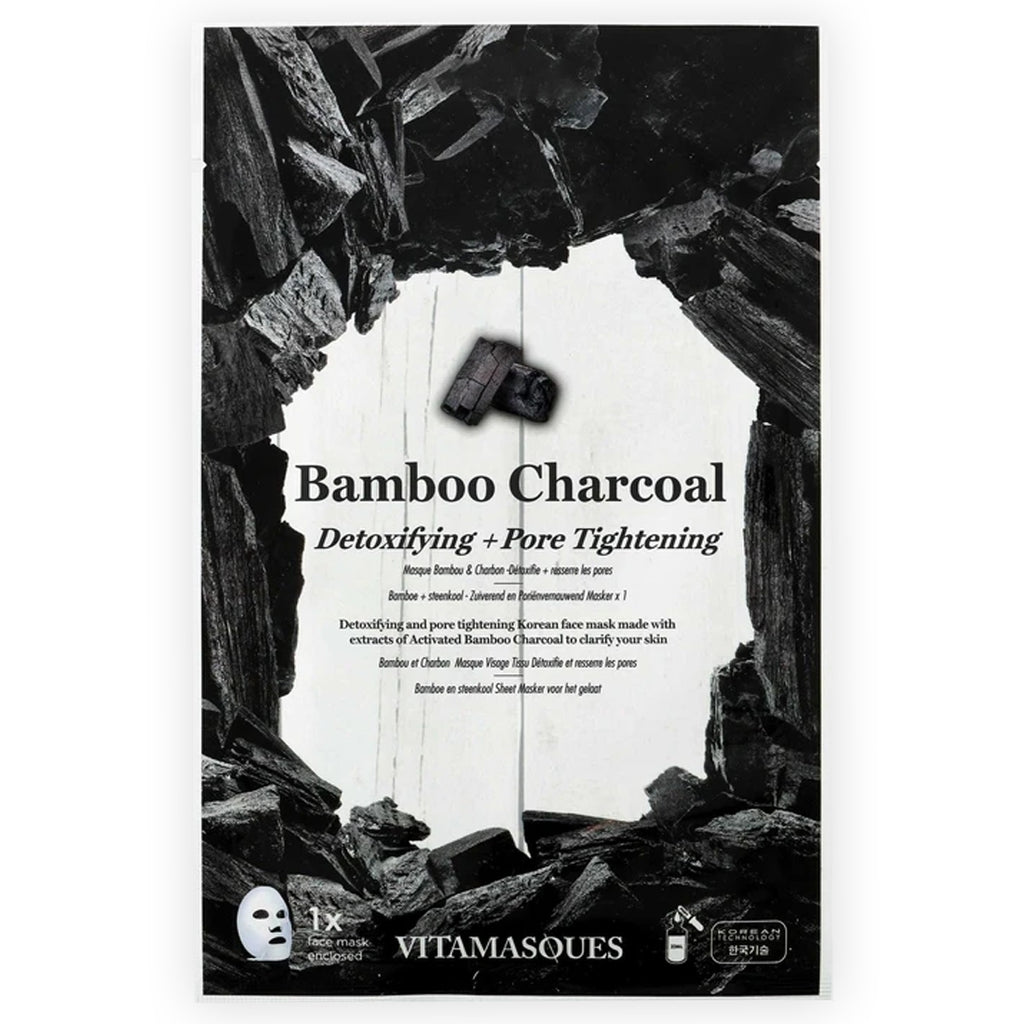 The Bamboo Charcoal Face Mask
