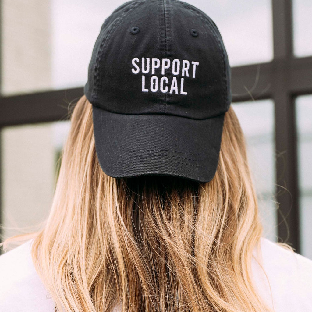 The 'Support Local' Baseball Cap