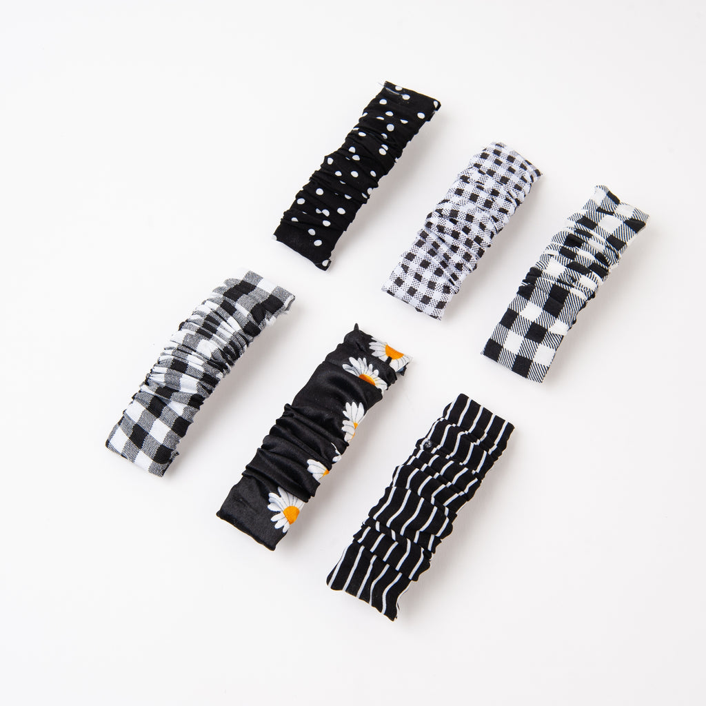 The Accordion Hair Clips - Various Colours