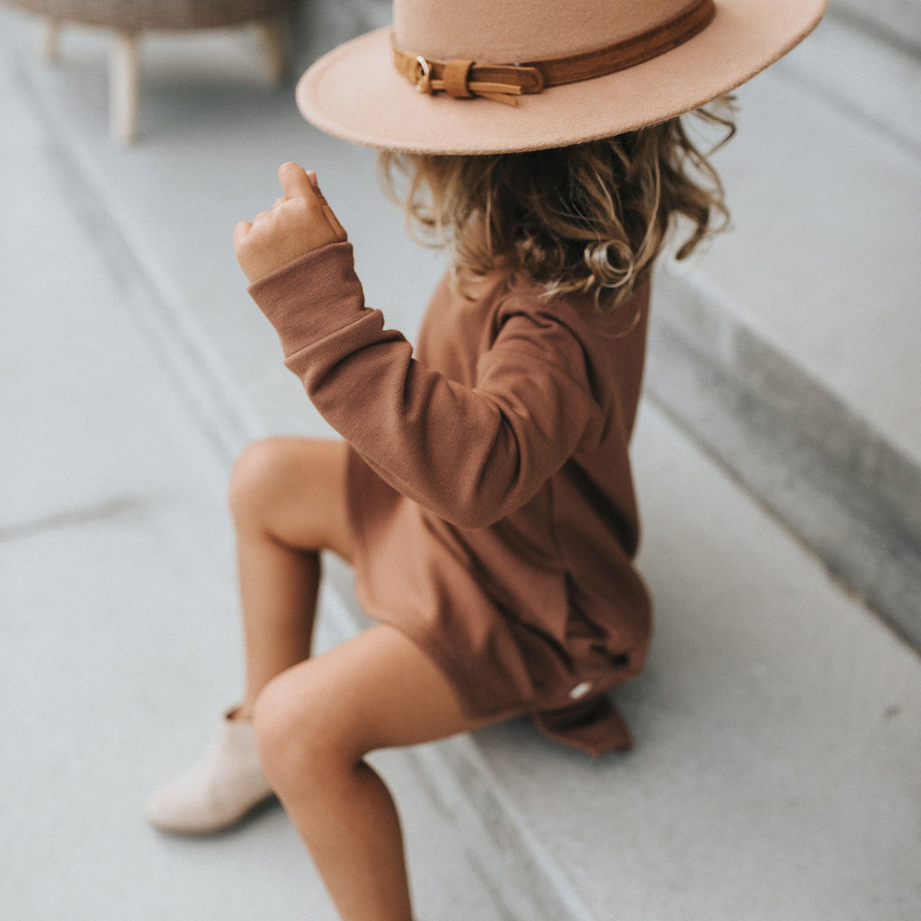 The Kids Rancher Hat - Tan