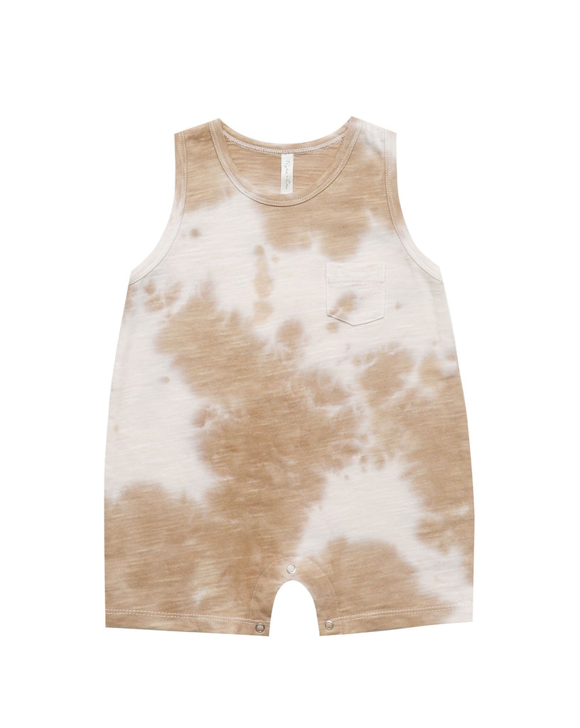 The Tie Dye Romper by Rylee & Cru