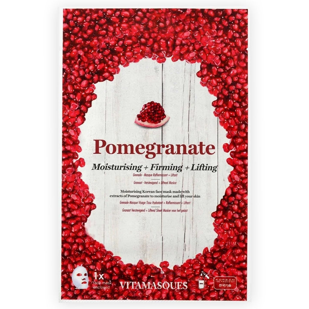The Pomegranate Face Mask